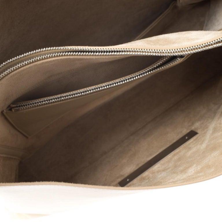 Women's Celine Nude Leather Blade Chain Shoulder Bag For Sale