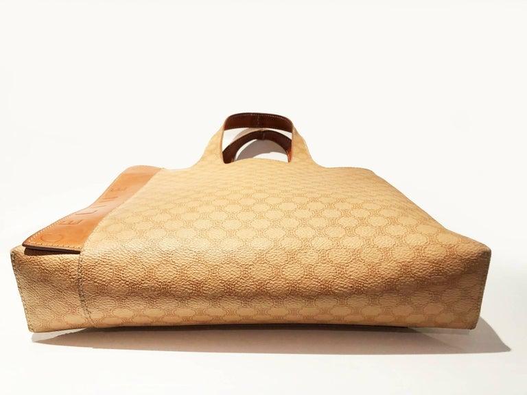 Celine Paris Macadam tote logo bag  For Sale 1