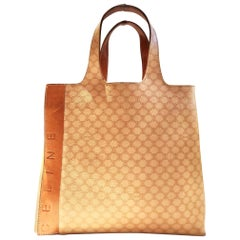 Celine Paris Macadam tote logo bag
