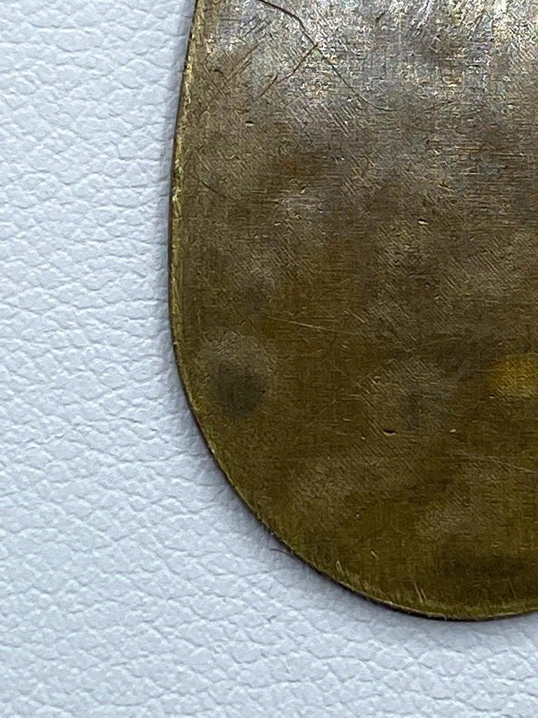 Celine, Paris Patinated Bronze Disk Bib Necklace For Sale 13