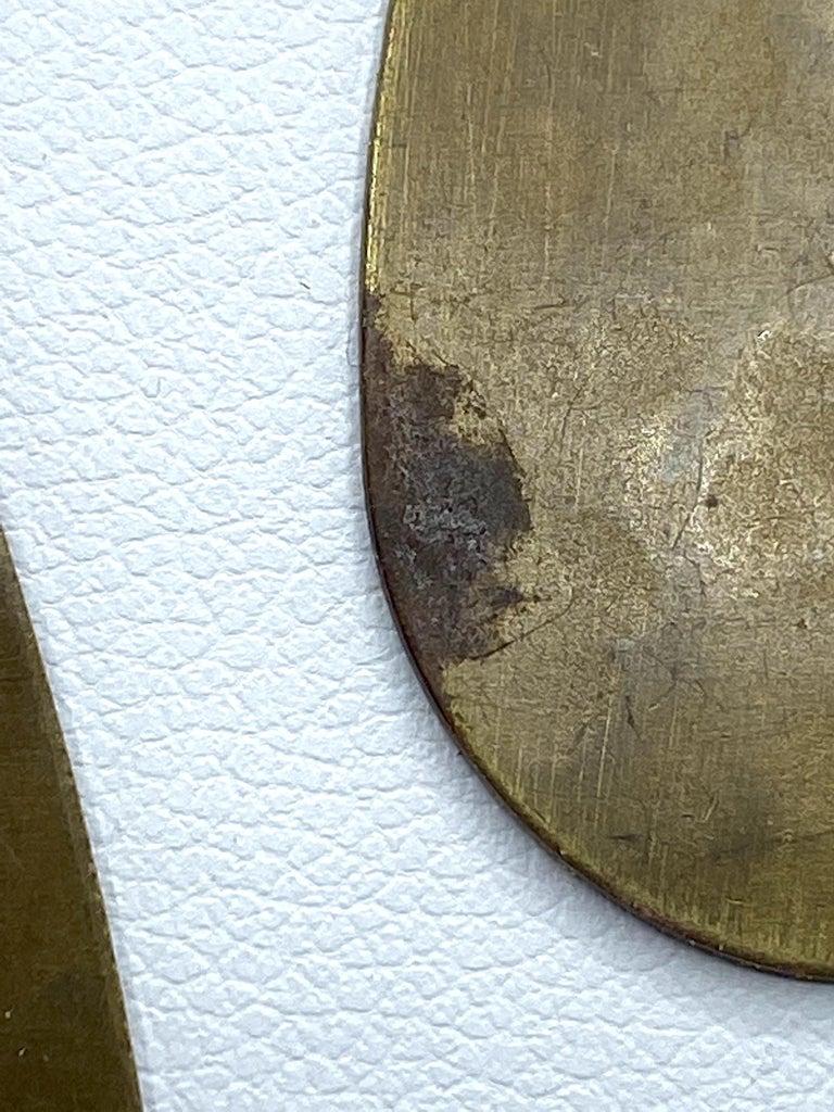 Celine, Paris Patinated Bronze Disk Bib Necklace For Sale 14