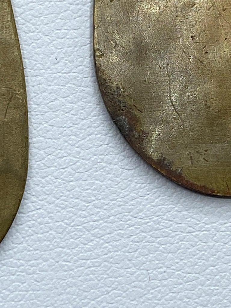 Celine, Paris Patinated Bronze Disk Bib Necklace For Sale 15