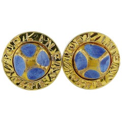Celine Paris Vintage 1989 Clip-On Earrings