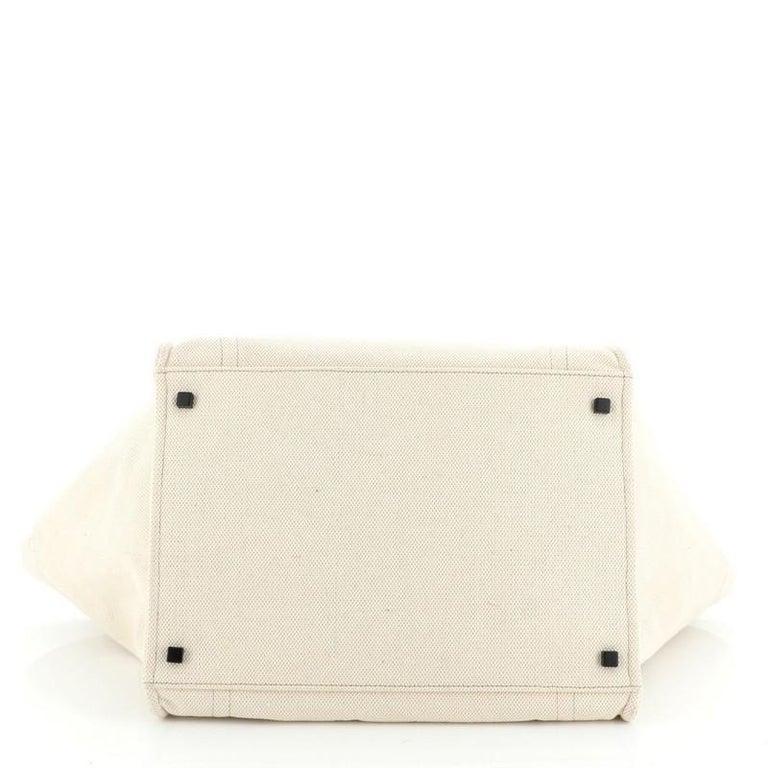 Celine Phantom Bag Canvas Large For Sale 1