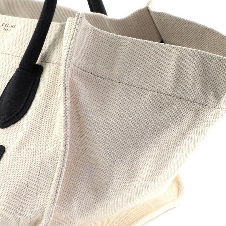 Celine Phantom Bag Canvas Large For Sale 3