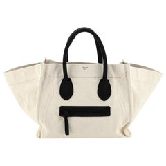 Celine Phantom Bag Canvas Large