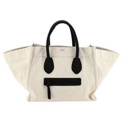Celine Phantom Bag Canvas Large