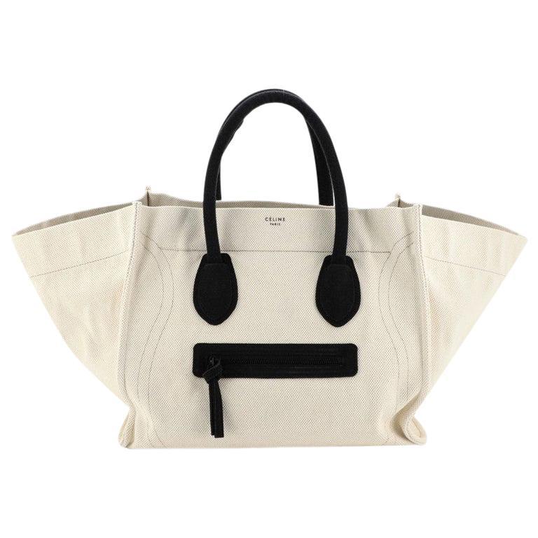 Celine Phantom Bag Canvas Large For Sale