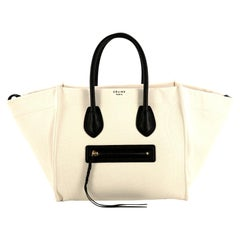 Celine Phantom Bag Canvas Medium