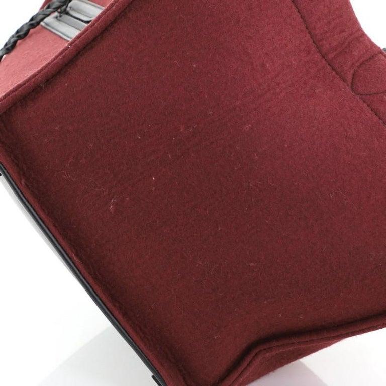 Celine Phantom Bag Felt Medium For Sale 2