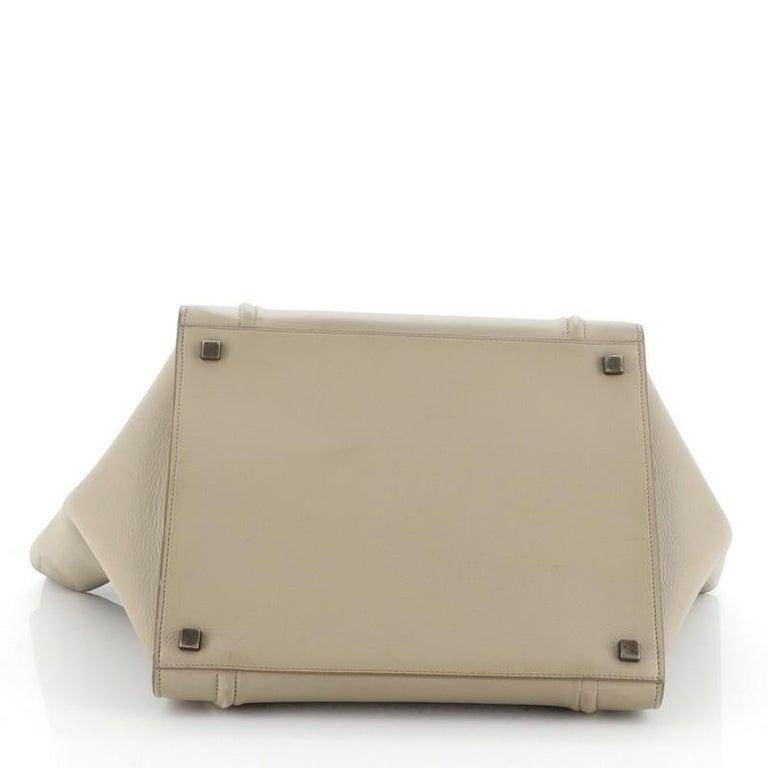Women's or Men's Celine Phantom Bag Grainy Leather Medium For Sale