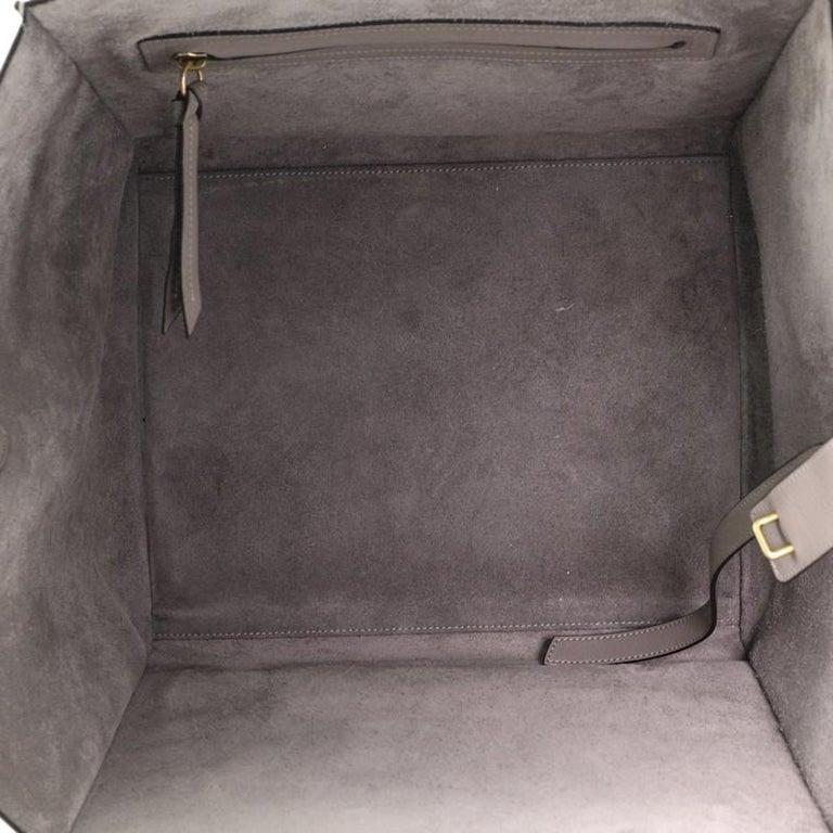 Celine Phantom Bag Grainy Leather Medium For Sale 2