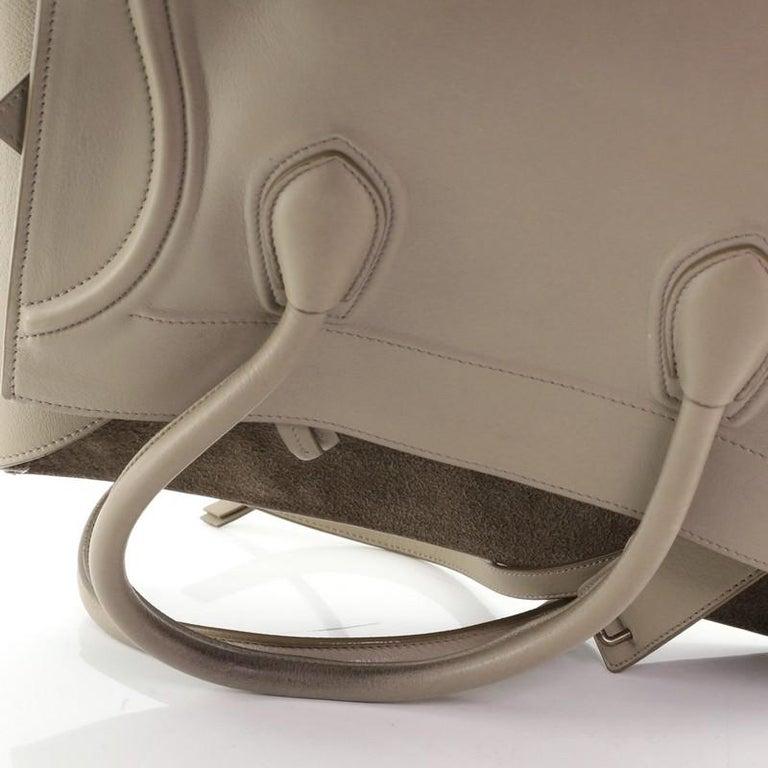 Celine Phantom Bag Grainy Leather Medium For Sale 4