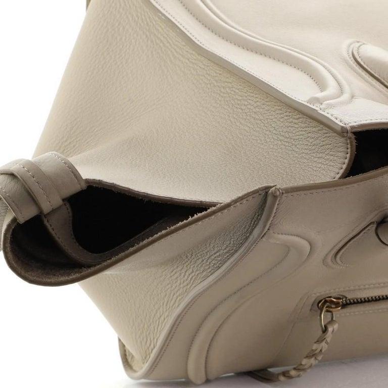 Celine Phantom Bag Grainy Leather Medium For Sale 5