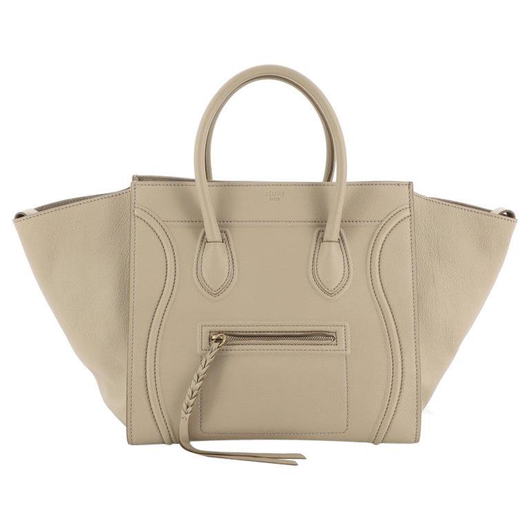 Celine Phantom Bag Grainy Leather Medium For Sale