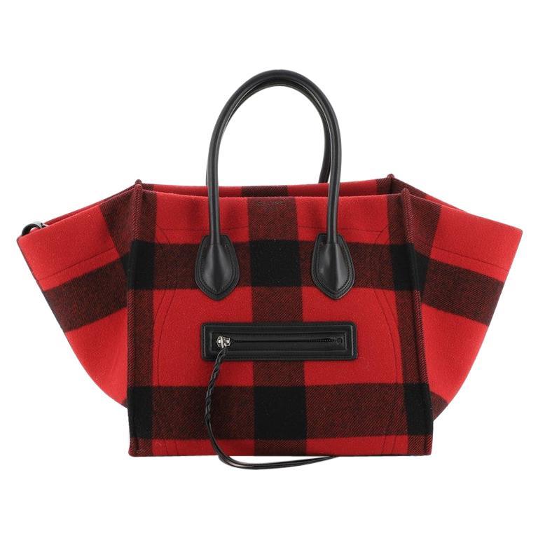 Celine Phantom Bag Printed Felt Medium For Sale
