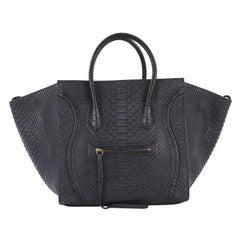 Celine Phantom Bag Python Medium