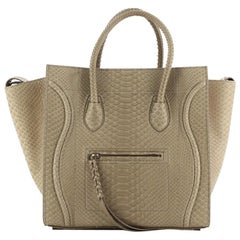 Celine Phantom Bag Python Medium