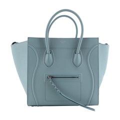 Celine Phantom Bag Textured Leather Medium