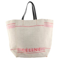 Celine Phantom Cabas Tote Canvas Medium