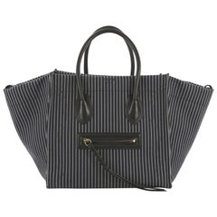 Celine Phantom Handbag Canvas Medium