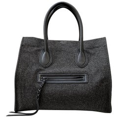 Celine Phantom Luggage GM Felt Wool Bag
