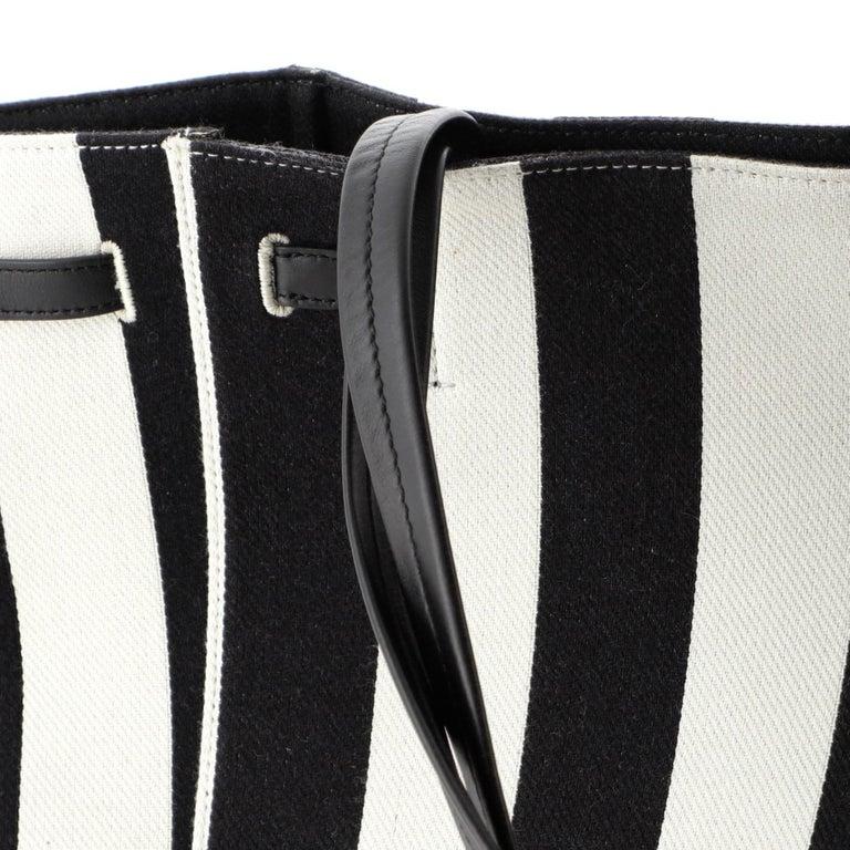 Celine Phantom Tie Cabas Tote Canvas Small  2