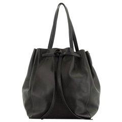 Celine  Phantom Tie Cabas Tote Leather Medium
