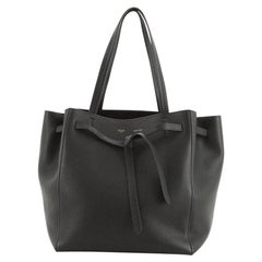 Celine Phantom Tie Cabas Tote Leather Small