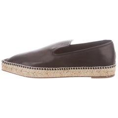 49e2dfacc ... Tan Cognac Leather Gold Zipper Carryall Travel Tote Bag View More. Celine  Phoebe Philo NEW Black Leather Jute Flats Shoes. Celine Phoebe Philo NEW  Black ...