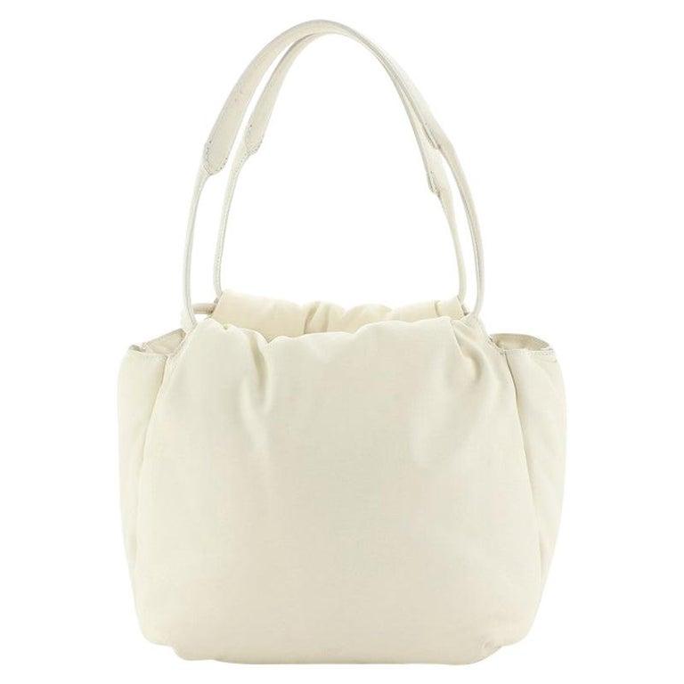 Celine Pillow Bucket Bag Leather