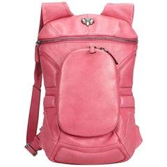 Celine Pink Leather Backpack