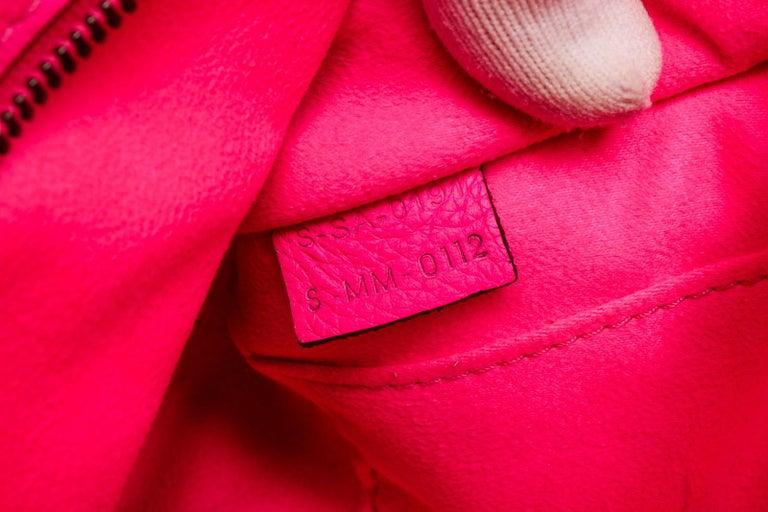 Céline Pink Leather Nano Luggage Tote Cross Body Bag 3