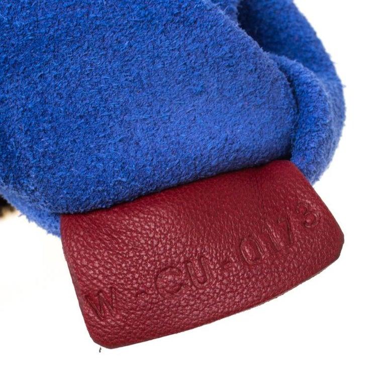 Women's Céline Red Leather Berlingot Clutch For Sale