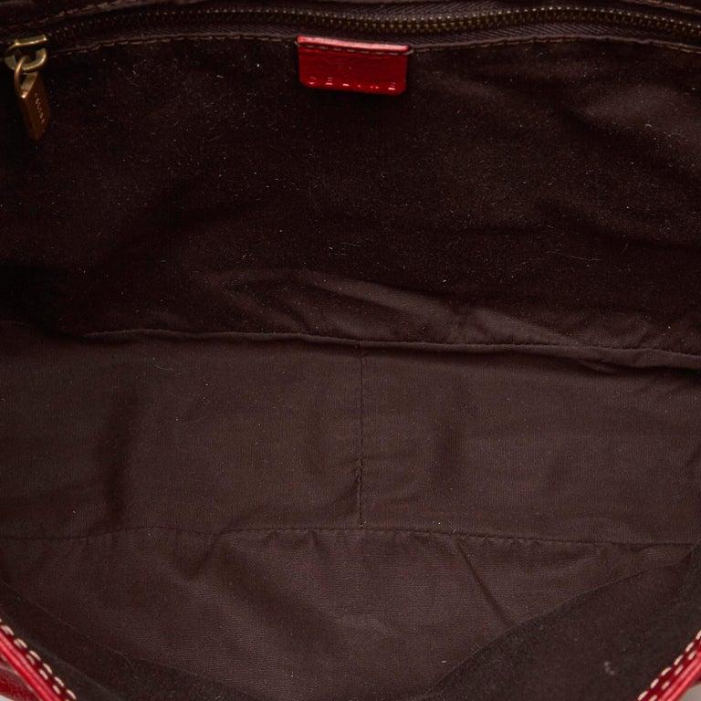 63a5625e75591 Celine Rote Leder Handtasche im Angebot bei 1stdibs