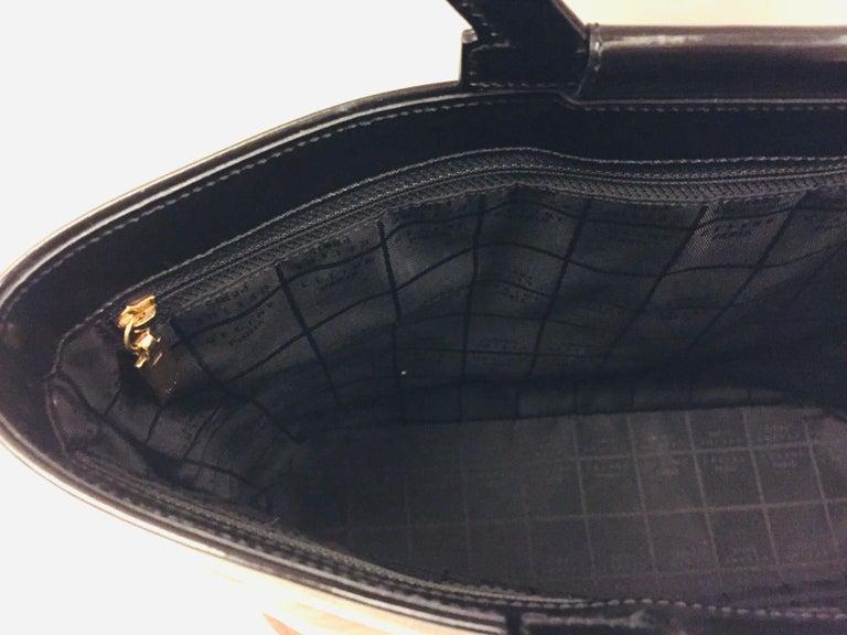 Women's or Men's Celine retro logo handle bag in vinyl  For Sale