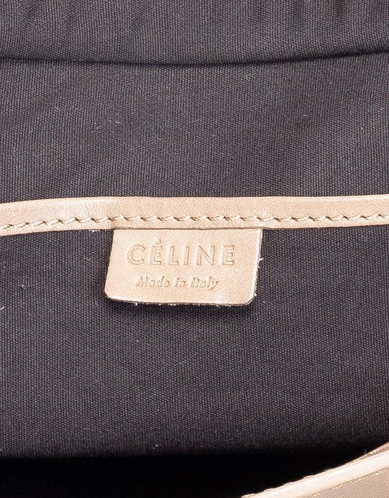 Women's Celine Sand Dune Nano Luggage Bag For Sale