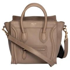 Celine Sand Dune Nano Luggage Bag