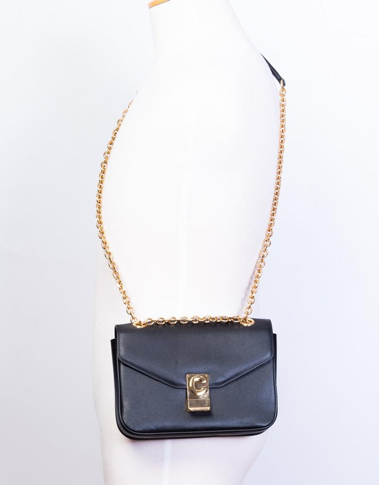 Celine Shiny Calfskin Small C Bag 2018 For Sale 2