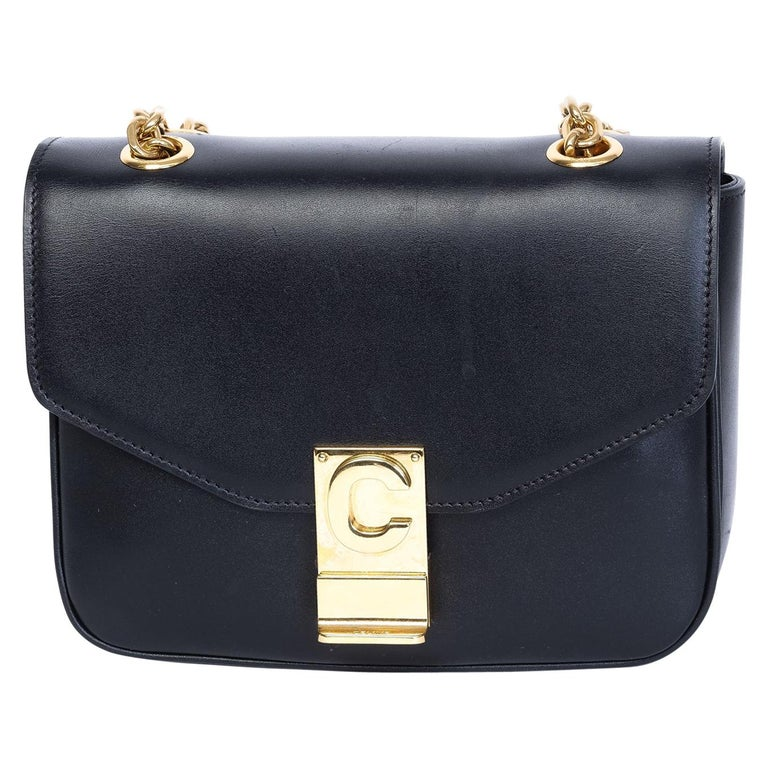 Celine Shiny Calfskin Small C Bag 2018 For Sale