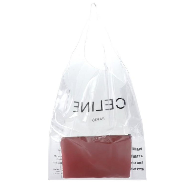 Celine Shopping Tote PVC In Fair Condition In New York, NY