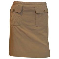 Celine Short Wool Skirt