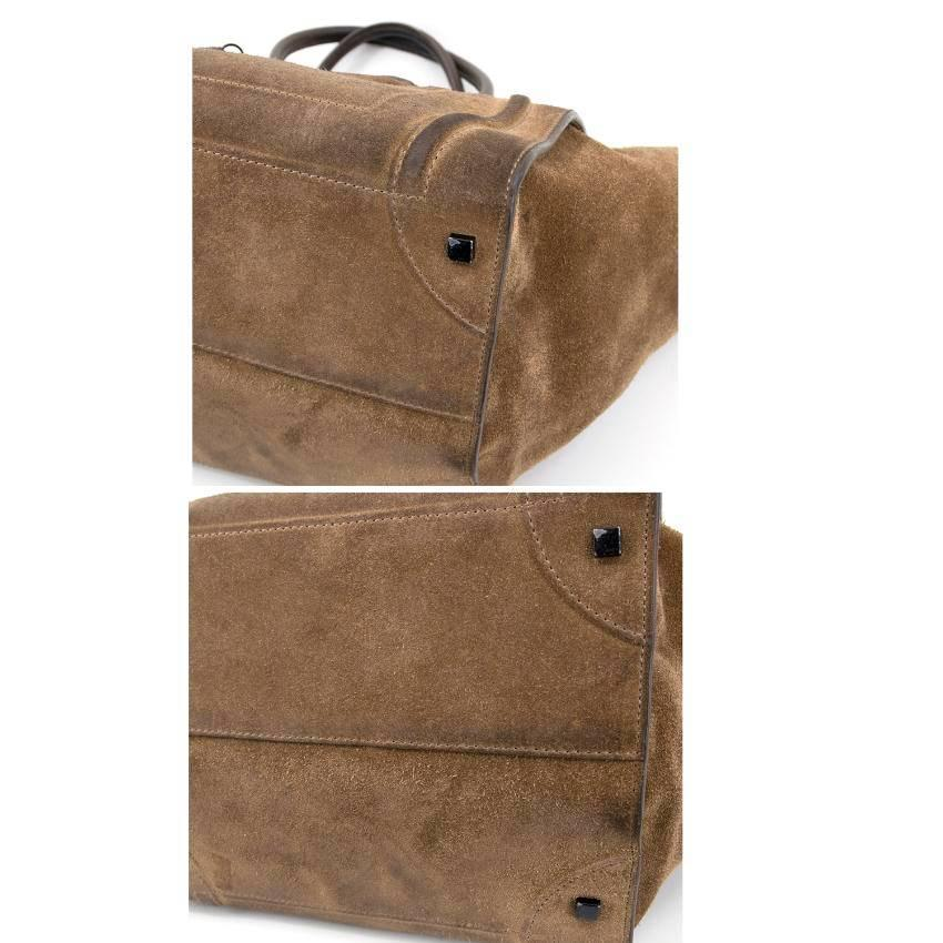 f73b946220 Celine Suede Phantom Medium Bag For Sale at 1stdibs