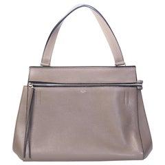 Celine Taupe Medium Edge Shoulder Bag 2013