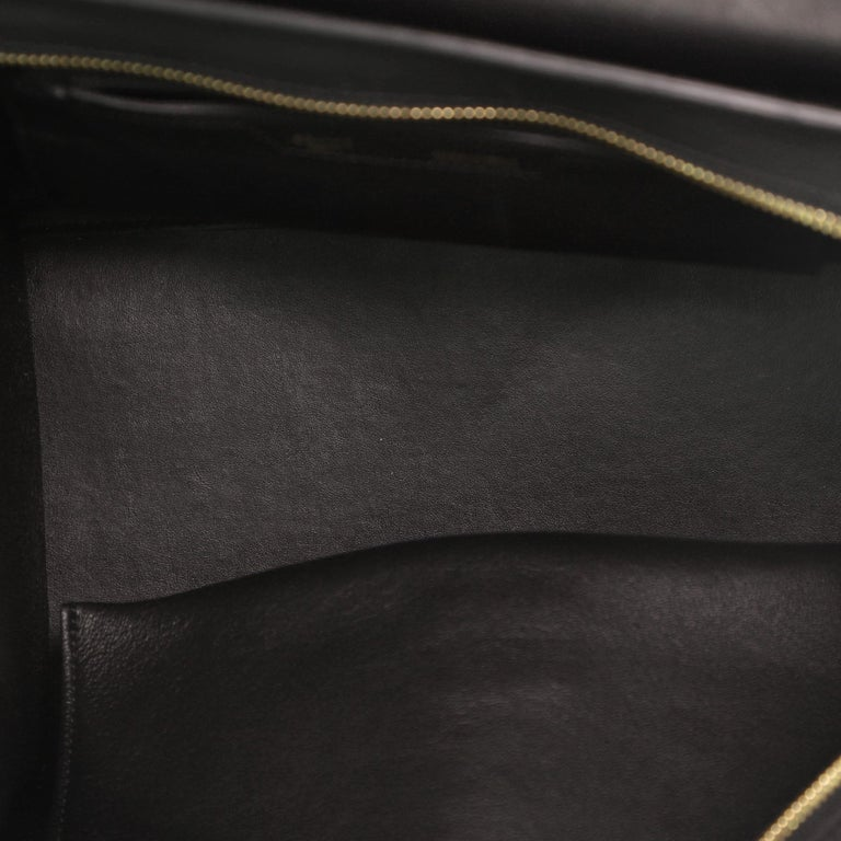 Women's or Men's Celine Trapeze Bag Crocodile Embossed Leather Medium