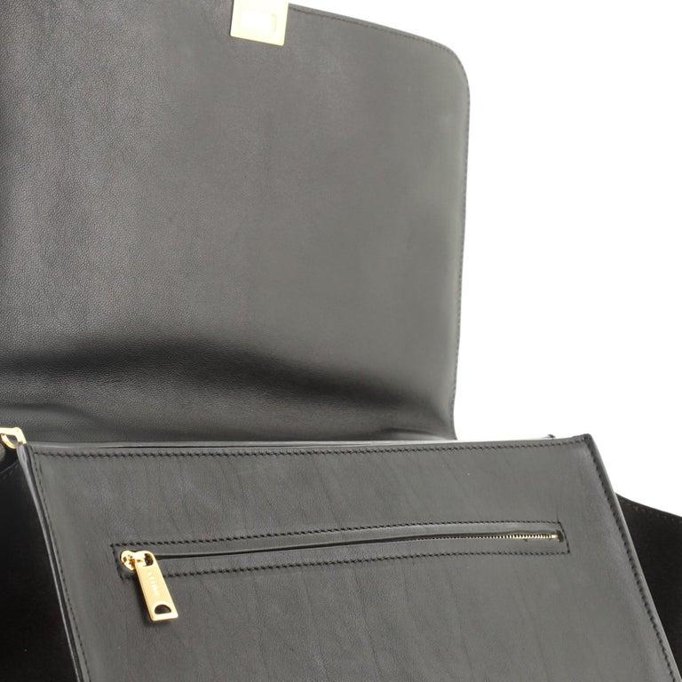 Celine Trapeze Bag Crocodile Embossed Leather Medium 3