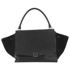 Celine Trapeze Bag Leather Large