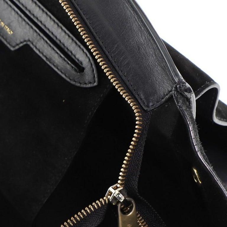 Celine Trapeze Bag Leather Medium For Sale 7