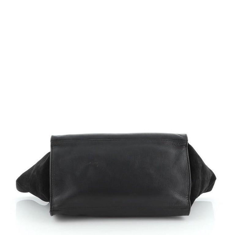 Women's or Men's Celine Trapeze Bag Leather Medium For Sale