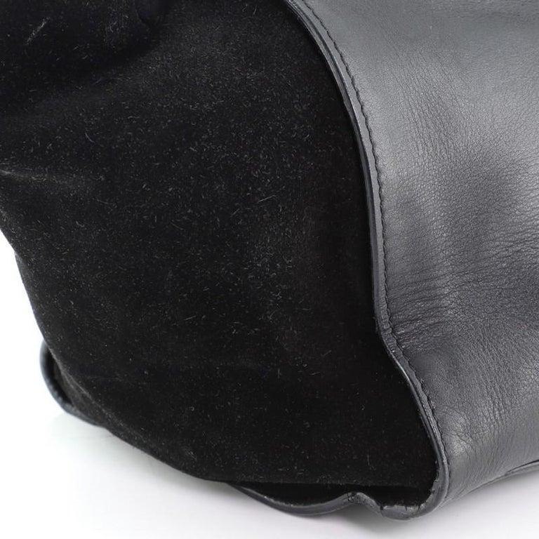 Celine Trapeze Bag Leather Medium For Sale 2